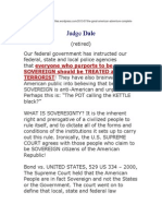 Judge Dale Sovereignty