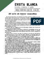 La Revista Blanca (Madrid). 15-3-1903