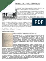 CHILENIZACION DE TACNA ARICA Y TARAPACÁ