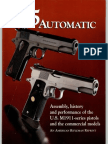 45 Automatic, The - NRA American Rifleman Reprint - Ocr