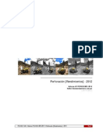 Informe Operaciones-005 - Perforación [Rendimientos] - 2012.pdf