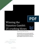 Winning the Staunton Gambit