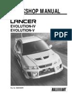 LANCER Workshop Manual