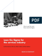 Lean 6-Sigma in Services