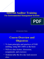 Auditor Training 8.22.03
