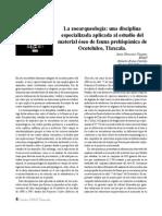 2009 02 La zooarqueología, una disciplina especializada...