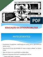 Educao Daditadura Militar