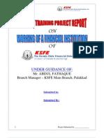 Finance Project - KSFE