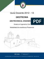 Cursos de Geotecnia