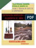 Control y Supervsion de Obras