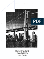 HP Euro Student Guide 1992
