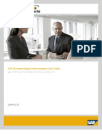 Inter Company Interfaces in SAP