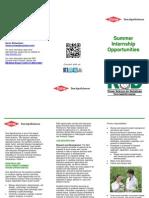 2014 RD Intern Brochure