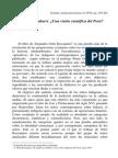 Inkarrí. ¿Una visión científica del Perú