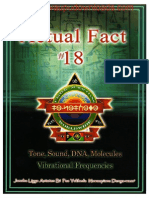 Actual Fact 18 - Tone, Sound, DNA Molecules, Vibrational Frequencies