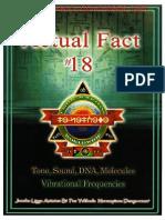 Actual Fact 18 - Tone, Sound, DNA Molecules, Vibrational Frequencies