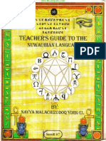 Dr York - Teachers Guide to the Nuwaubian Language