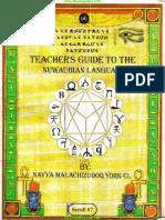 Dr York - Teachers Guide to the Nuwaubian Language