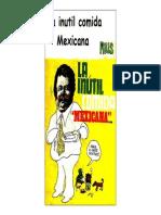 Rius - La inútil comida mexicana1