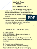 Topic 2 Breach of confidence(2)-1.ppt
