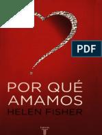 Fisher, Helen - Porque Amamos