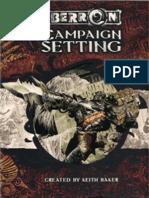 D&D 3 5] Eberron - Campaign Setting pdf