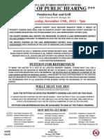 LID - Public Hearing Notice 11-19-2013