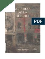 41 - Baroja Pio - Las Miserias de La Guerra