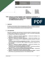 Niveles de Ruido Máximos para Aeronaves Nacionales y Extranjeras  y los procedimientos de aceptación y emisión de certificados de homologación acústica