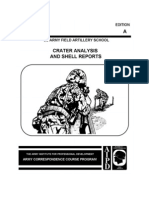 1992 Us Army Crater Analysis and Shell Reports 49p