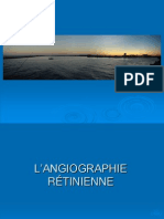 L'ANGIOGRAPHIE RÉTINIENE
