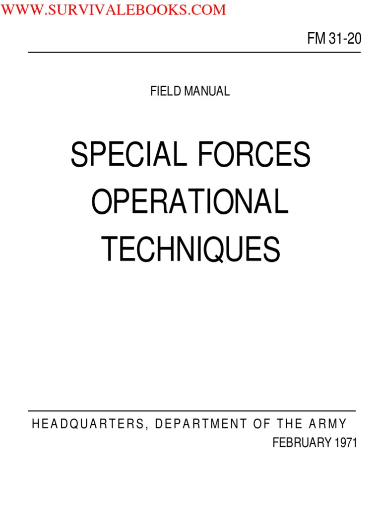 1971 Us Army Vietnam War Special Forces Operational Techniques 261p Crystalcontrolled Audio Generator Circuit Diagram Tradeoficcom Military Intelligence Counterintelligence