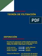 Teoría de Filtración