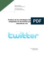 Análisis uso twitter Flor Sila Rodríguez