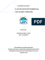 Status Fungsional Yakin