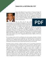 LA RAÍZ Y LAS RAMAS EN LA HISTORIA DEL PCP