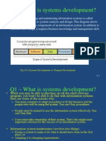 Systems Development- Summary