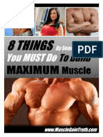 8 Things Your Must Do to Build Maximum Muscle (Nalewanyj