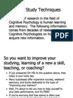 Seven Study Techniques