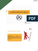 3 Estudio Del Trabajo y Productividad