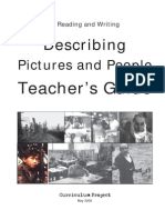 Describing Pictures and People Teacher's Guide