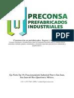 Preconsa - Prefabricados Industriales