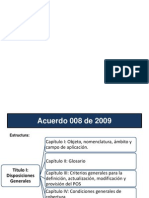 Acuerdo 008 de 20091