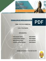 Promocion de Mercados Externos