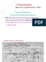 A.C Potentiometer1
