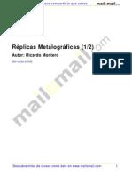 Montero,R.replicasMetalograficas