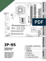 Abit IP-95 Manual