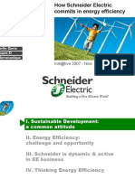 Schneider Energy Efficiency Initiatige General Presentation