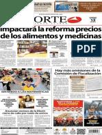 Periódico Norte de Ciudad Juárez 13 de Octubre de 2013