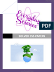Everyday Science Solved Papers